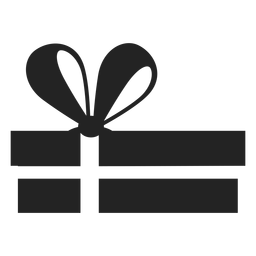 Hanukkah regalo silueta