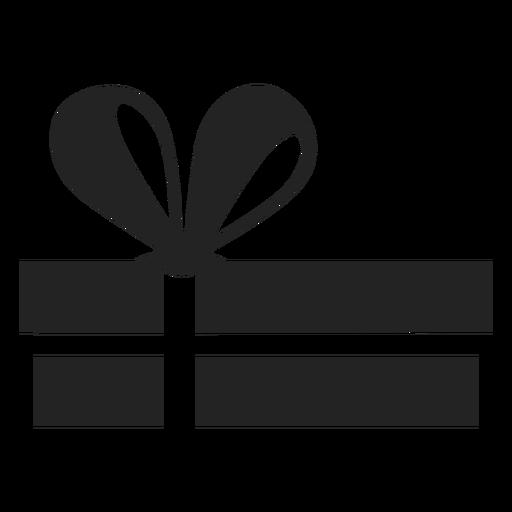 Hanukkah gift silhouette Transparent PNG