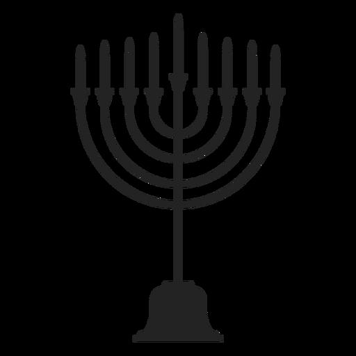 Hanukkah menorah ícone de suporte de vela Transparent PNG