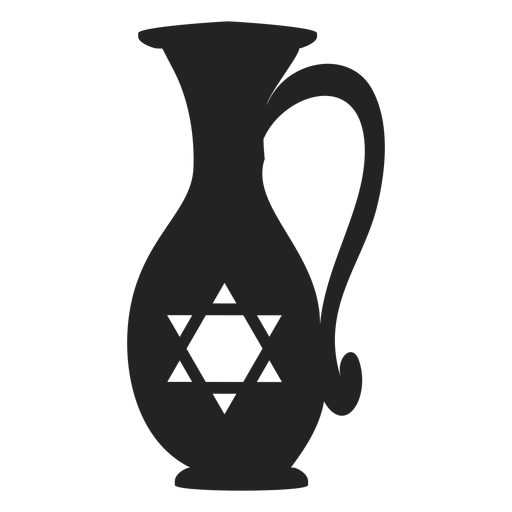 Hanukkah icono de jarra de aceite hanukkah Transparent PNG