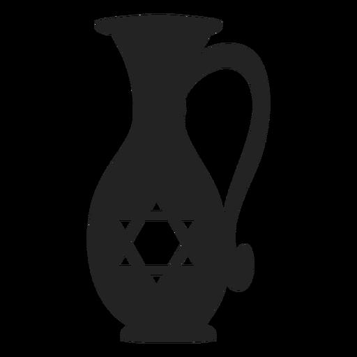 Ícone do jarro de óleo de Hanukkah hanukkah Transparent PNG