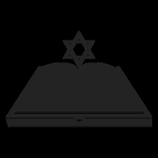 Icono de libro abierto de Jánuca Transparent PNG