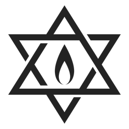 Hanukkah estrela de david