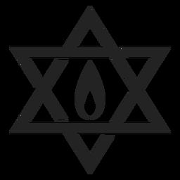 Hanukkah estrella de david