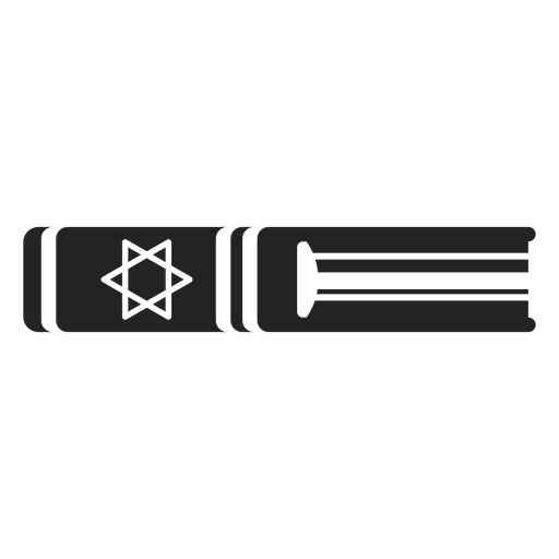 Hanukkah torah book icon Transparent PNG
