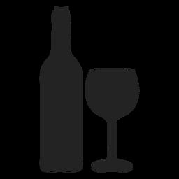 Icono de Hanukkah vino y copa