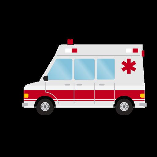 Krankenwagenillustration des Krankenhauses Transparent PNG