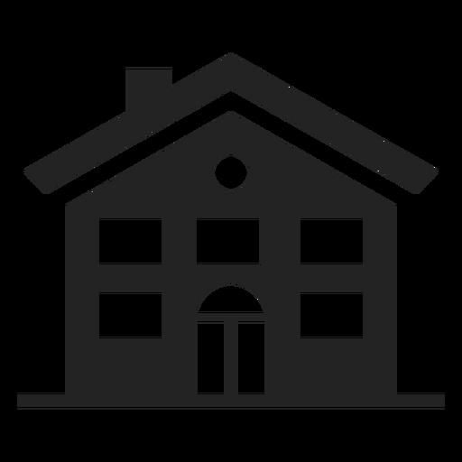 House black icon Transparent PNG