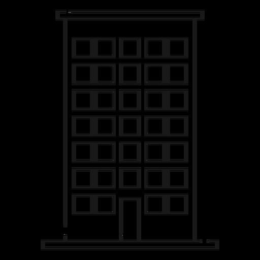 Casa, predios, linha, ícone Transparent PNG