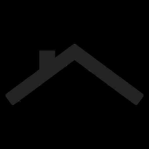 Icono de techo de casa