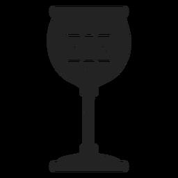 Ícone de taça judaica