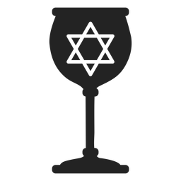 Icono de copa judía