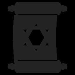 Pergaminho de hanukkah judeu