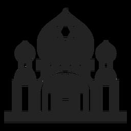 Icono de templo judío
