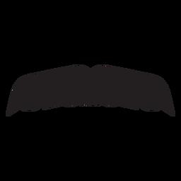 Icono de bigote de pantalla