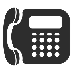 Telefone fixo, ícone