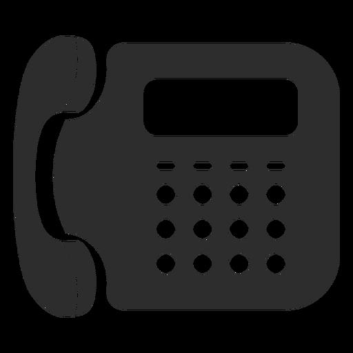 Icono de telefono fijo Transparent PNG