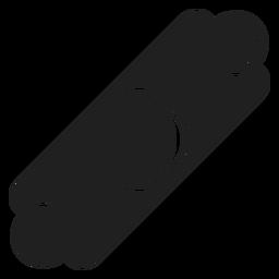 Icono de pulsera de cuero.