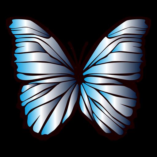 Projeto de borboleta de asas forradas Transparent PNG