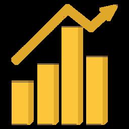 Ilustração do gráfico de marketing