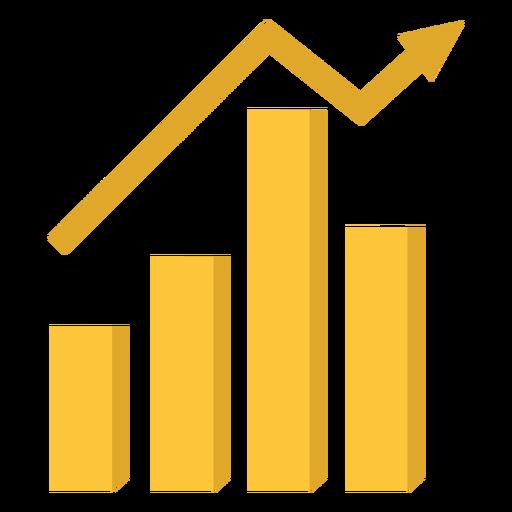 Ilustración de gráfico de marketing