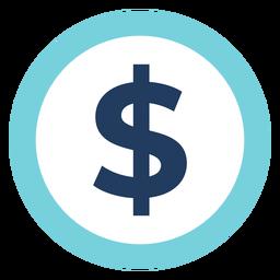 Marketing-Dollarzeichen Symbol