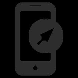 Icono de puntero de flecha móvil