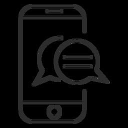 Mensagens do celular