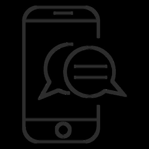 Mensajería móvil Transparent PNG
