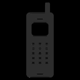 Teléfono móvil con icono de antena