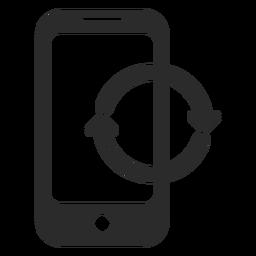Ícone de atualização para celular