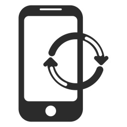 Mobile refresh icon