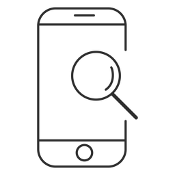 Mobile search icon