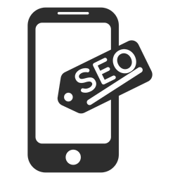 Mobile SEO-Marketing-Symbol