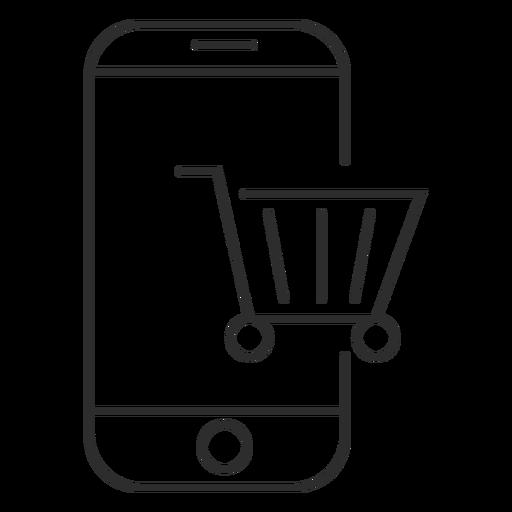 Ícone comercial móvel Transparent PNG