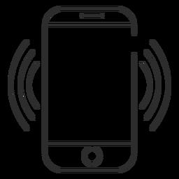 Ícone de conexão Wi-Fi móvel