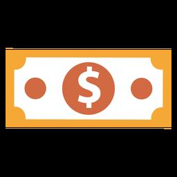 Icono de moneda de dinero