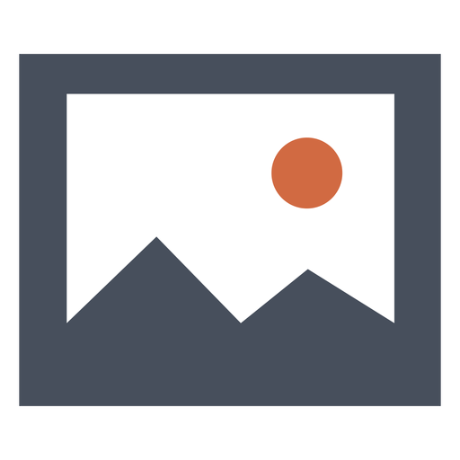 Mountain square icon Transparent PNG