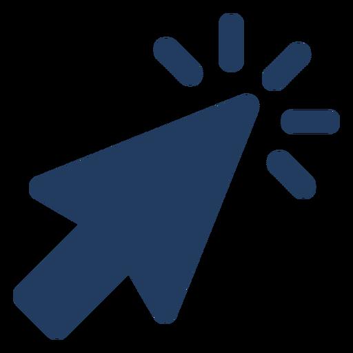 Icono de puntero del mouse Transparent PNG
