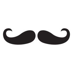 Moustache handlebar icon