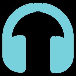 Icono de auriculares multimedia