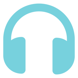 Multimedia headphone icon