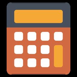 Icono de calculadora de la vieja escuela