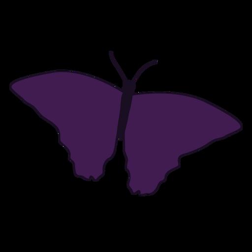 Gemusterte Flügel Schmetterling Symbol Transparent PNG