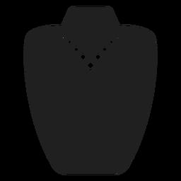 Perlen- und Quastenhalskettensymbol