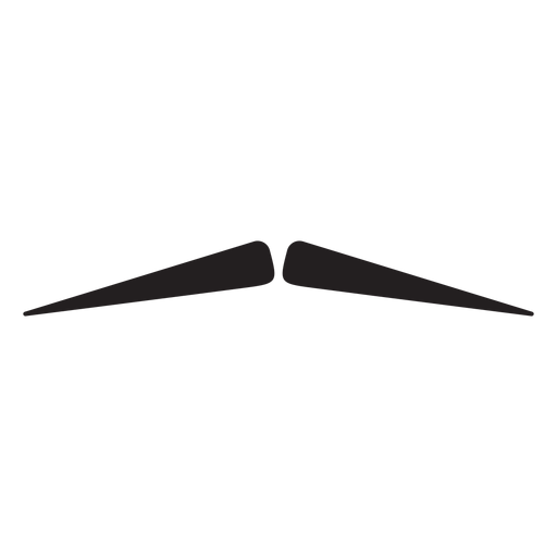 Pencil moustache icon Transparent PNG
