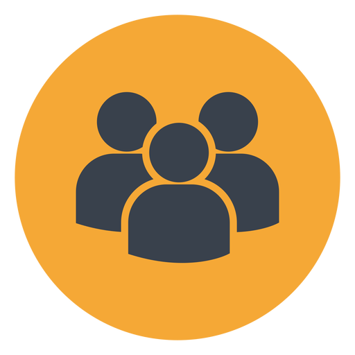 People contact icon people Transparent PNG