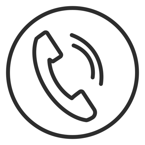 Phone call symbol icon Transparent PNG