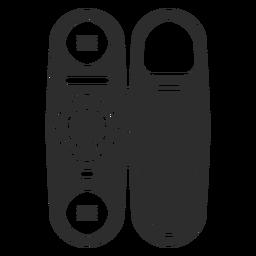 Telefone com ícone de discagem rotativa