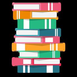 Pila de libros vectoriales